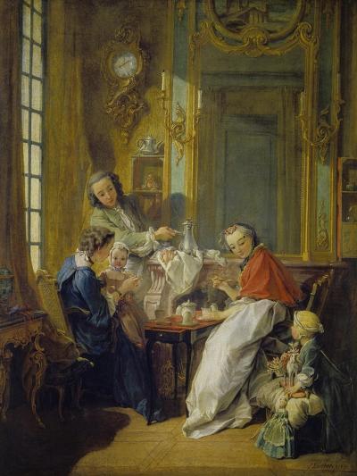 The Breakfast (Le Déjeuner), 1739-Fran?ois Boucher-Giclee Print