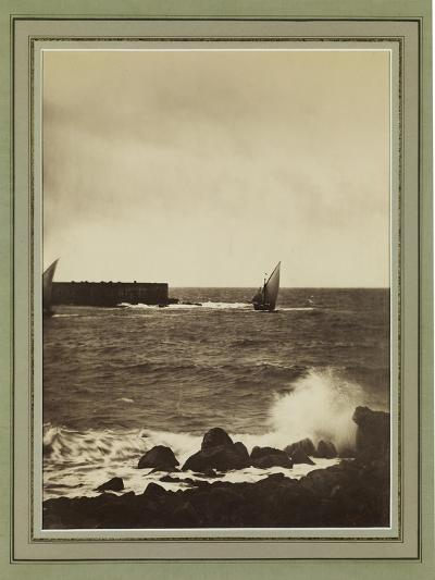 The Breaking Wave, Mediterranean, C.1857-Gustave La Gray-Giclee Print