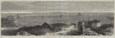 The Breakwater and Harbour of Holyhead, Anglesey, North Wales--Giclee Print