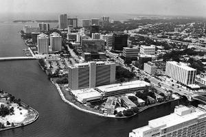 The Brickell Avenue Financial District, 1982