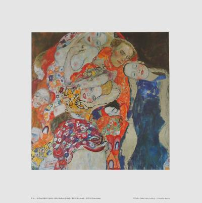 The Bride, 1917 (detail)-Gustav Klimt-Art Print