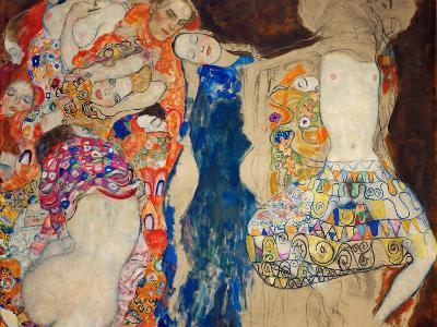 The Bride, 1918-Gustav Klimt-Giclee Print