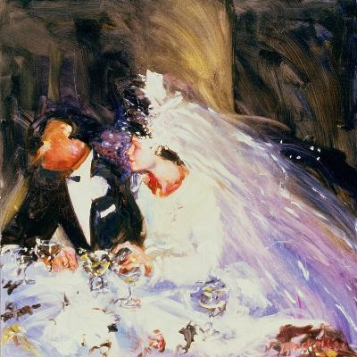 The Bride and Groom, 1983-Ted Blackall-Giclee Print