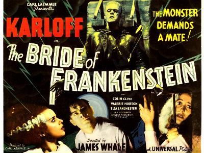 THE BRIDE OF FRANKENSTEIN--Art Print