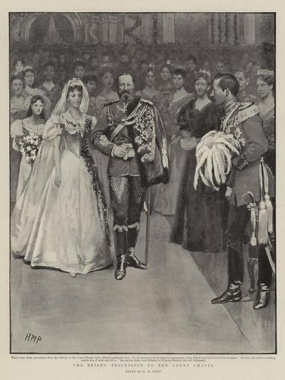 The Bride's Procession to the Court Chapel-Henry Marriott Paget-Giclee Print
