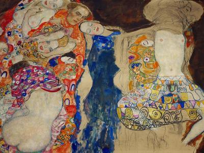 The Bride-Gustav Klimt-Giclee Print