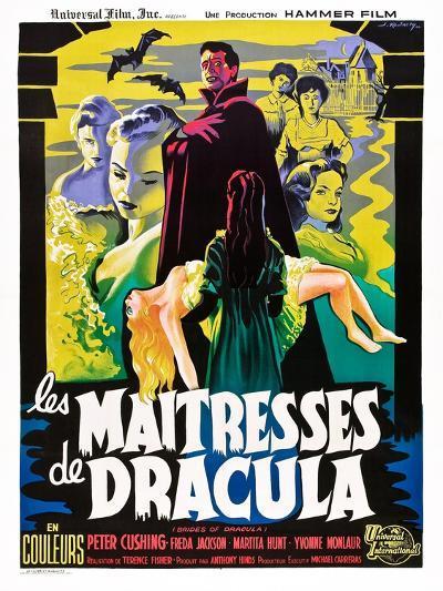The Brides of Dracula (aka Les Maitresses De Dracula)--Art Print