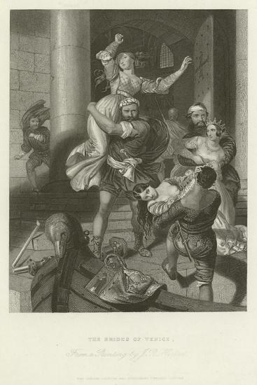 The Brides of Venice-John Rogers Herbert-Giclee Print