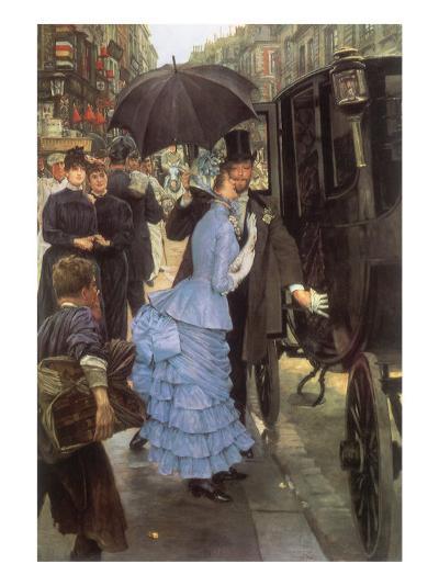The Bridesmaid, 1884-James Tissot-Giclee Print