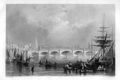 The Bridge and Broomielaw Quay, Glasgow, Scotland, 1886-R Wallis-Giclee Print