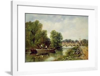 The Bridge at Henley-On-Thames-Frederick Waters Watts-Framed Giclee Print