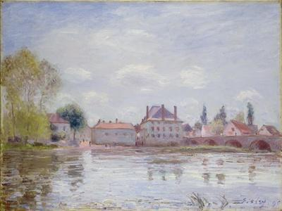 The Bridge at Moret-Sur-Loing, 1890-Alfred Sisley-Giclee Print