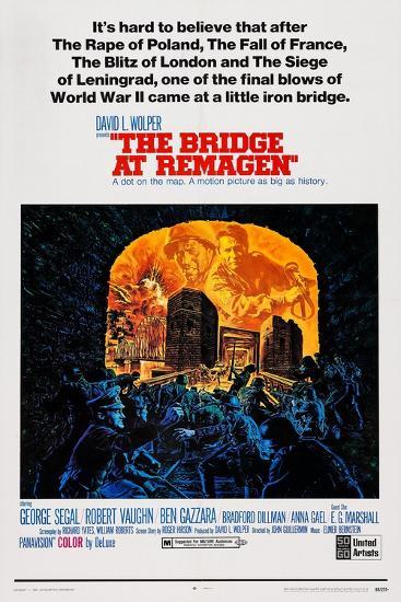 The Bridge at Remagen, Top from Left: George Segal, Ben Gazzara, 1969--Art Print