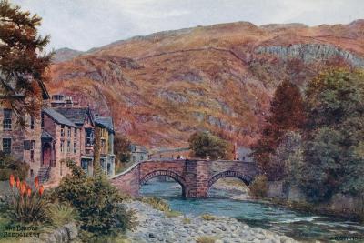 The Bridge, Beddgellert-Alfred Robert Quinton-Giclee Print