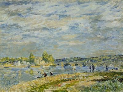 The Bridge Near Sevres, 1877-Alfred Sisley-Giclee Print