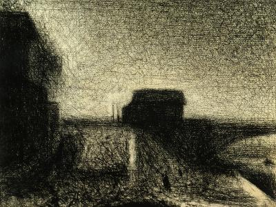 The Bridge of Courbevoie-Georges Seurat-Giclee Print