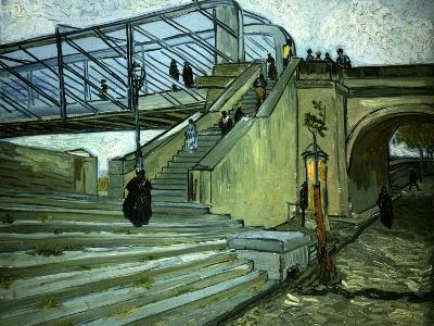 The Bridge of Trinquetaille-Vincent van Gogh-Giclee Print