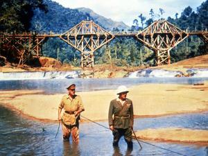 The Bridge On The River Kwai, Alec Guinness, Sessue Hayakawa, 1957