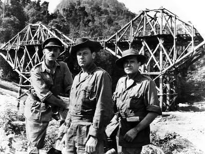 The Bridge on the River Kwai, Alec Guinness, William Holden, Jack Hawkins, 1957--Photo