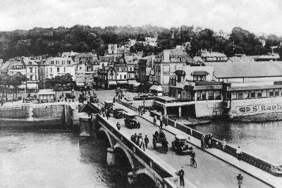 The Bridge on the River Touques, Trouville, France, C1920s--Giclee Print