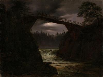 The Bridge Outside Arendal-Thomas Fearnley-Giclee Print