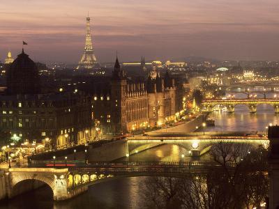 The Bridges of Paris--Art Print