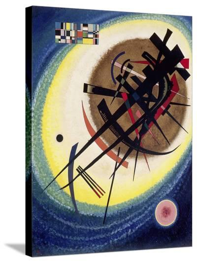 The Bright Oval-Wassily Kandinsky-Stretched Canvas Print