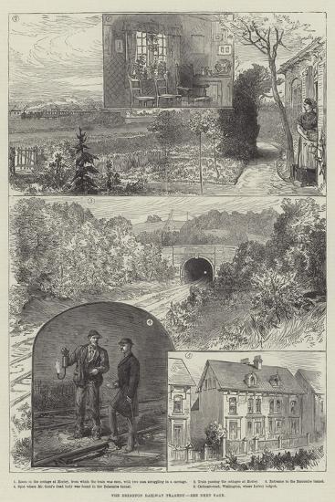 The Brighton Railway Tragedy--Giclee Print