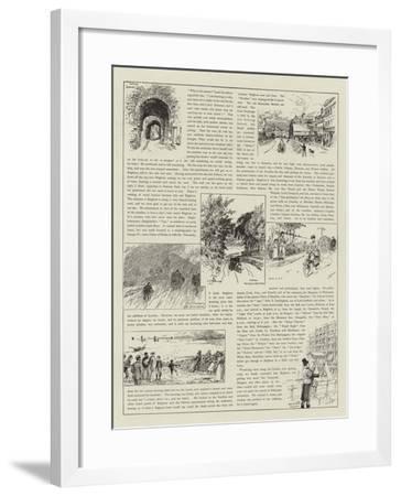 The Brighton Road-Charles Joseph Staniland-Framed Giclee Print