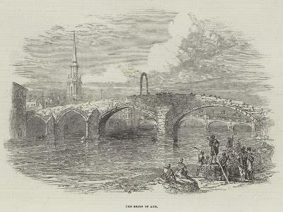 The Brigs of Ayr--Giclee Print