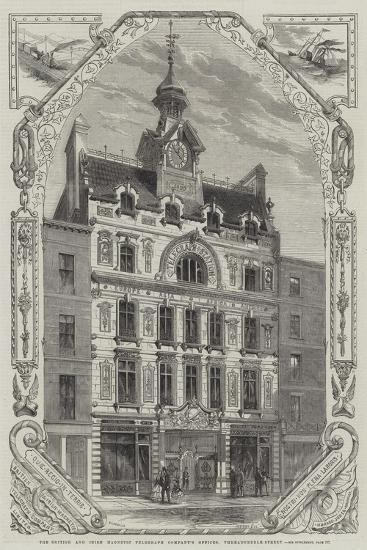 The British and Irish Magnetic Telegraph Company's Offices, Threadneedle-Street--Giclee Print