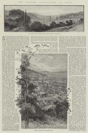 The British Association at Bath-Charles Auguste Loye-Giclee Print