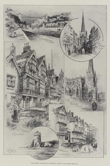 The British Association at Bristol, Views in and About the City--Giclee Print