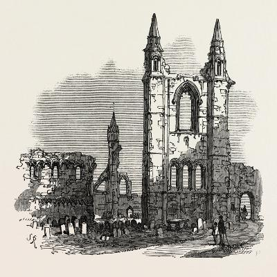 The British Association at Dundee: Cathedral of St. Andrew's, UK, 1867--Giclee Print