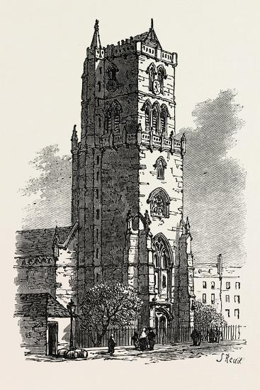 The British Association at Dundee: Old Steeple, Uk, 1867--Giclee Print
