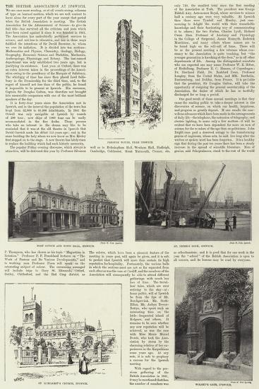 The British Association at Ipswich--Giclee Print
