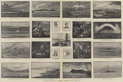 The British Association at Montreal, Sketches of the Voyage Out-George L. Seymour-Giclee Print