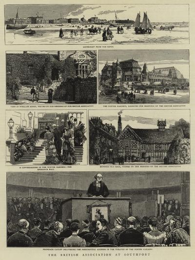 The British Association at Southport--Giclee Print