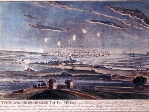 The British Attack of Fort Mchenry, Baltimore in 1812