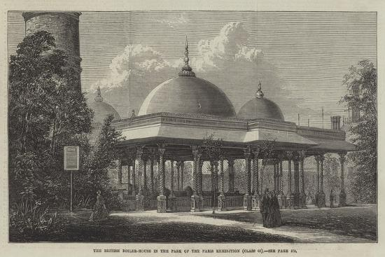 The British Boiler-House in the Park of the Paris Exhibition--Giclee Print
