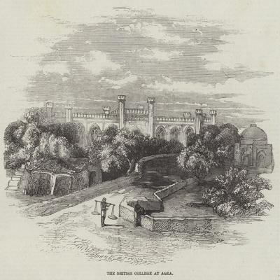 The British College at Agra--Giclee Print