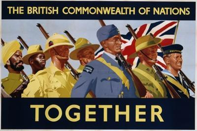 The British Commonwealth of Nations - Together Poster