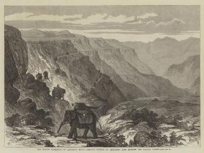 The British Expedition to Abyssinia--Giclee Print