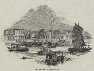 The British Factory, Canton--Giclee Print