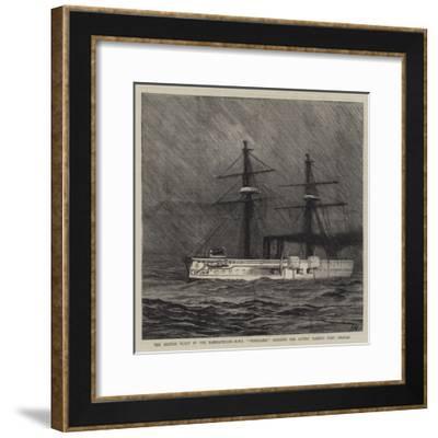 The British Fleet in the Dardanelles-Joseph Nash-Framed Giclee Print