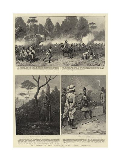 The British in West Africa, with the Ibouza Expedition-Charles Joseph Staniland-Giclee Print