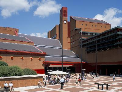 The British Library, London, England, United Kingdom-G Richardson-Photographic Print