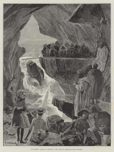 The British Mission to Morocco, the Caves of Hercules, Near Tangier-Richard Caton Woodville II-Giclee Print