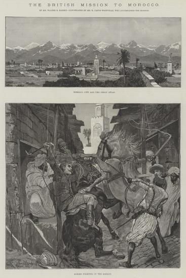 The British Mission to Morocco-Richard Caton Woodville II-Giclee Print