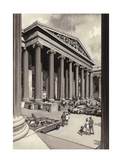 The British Museum in the 1960S-Pat Nicolle-Giclee Print